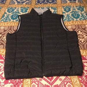 Jockey Sport Black and Gray Puffer Vest